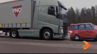 ترمز هوشمند در کامیون های ولوو