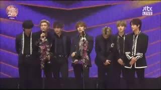 بی تی اس BTS برنده Album Daesang در مراسم Golden Disc Awards 2020