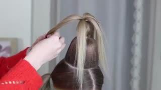 آموزش مدل مو دختر بچه کریسمس- مومیس مشاور و مرجع تخصصی مو