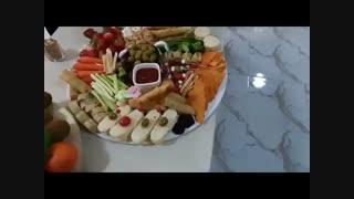 فینگرفود، سینی مزه، انواع غذاهای فانتزی و شیک
