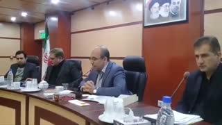 برگزاری جلسه شورای پدافند غیر عامل استان سمنان به ریاست خجسته پور ، معاون سیاسی ، امنیتی و اجتماعی استاندار